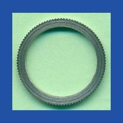 rictools Präzisions-Reduzierring gerändelt normal – 16 mm / 12,7 mm (1/2''), Stärke 1,4 mm
