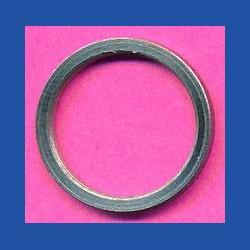 rictools Standard-Reduzierring glatt dünn – 16 mm / 13 mm, Stärke 1,2 mm