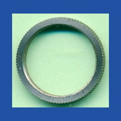 rictools Präzisions-Reduzierring gerändelt extra stark – 16 mm / 13 mm, Stärke 2,0 mm