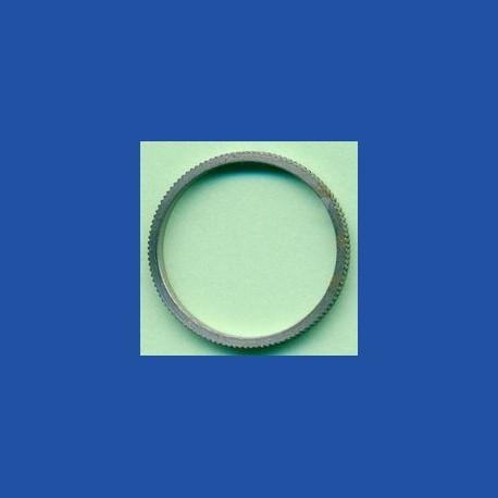 rictools Präzisions-Reduzierring gerändelt dünn – 18 mm / 16 mm, Stärke 1,2 mm