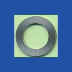 rictools Präzisions-Reduzierring gerändelt normal – 20 mm / 12,7 mm (1/2''), Stärke 1,4 mm