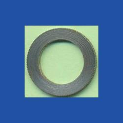 rictools Präzisions-Reduzierring gerändelt normal – 20 mm / 13 mm, Stärke 1,4 mm