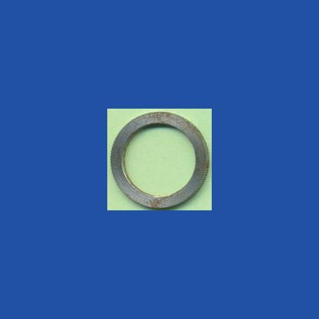 rictools Präzisions-Reduzierring gerändelt normal – 20 mm / 15 mm, Stärke 1,4 mm