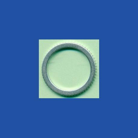 rictools Präzisions-Reduzierring gerändelt dünn – 20 mm / 15,875 mm (5/8''), Stärke 1,2 mm