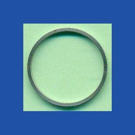 rictools Präzisions-Reduzierring gerändelt stark – 20 mm / 18 mm, Stärke 1,6 mm