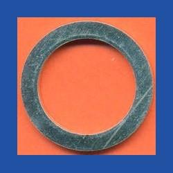 Kaindl Standard-Reduzierring glatt dünn – 22,23 mm (7/8'') / 16 mm, Stärke 1,2 mm