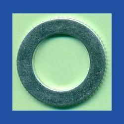 rictools Präzisions-Reduzierring gerändelt stark – 25 mm / 15,875 mm (5/8''), Stärke 1,5 mm
