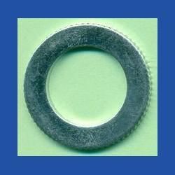 rictools Präzisions-Reduzierring gerändelt stark – 25,4 mm (1'') / 16 mm, Stärke 1,5 mm