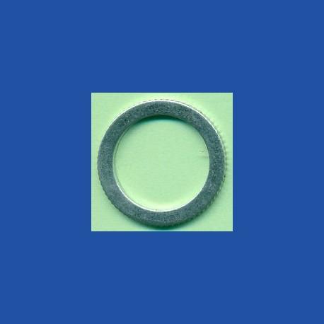 rictools Präzisions-Reduzierring gerändelt stark – 25,4 mm (1'') / 19 mm (3/4''), Stärke 1,5 mm