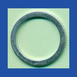 rictools Präzisions-Reduzierring gerändelt stark – 25,4 mm (1'') / 20 mm, Stärke 1,5 mm