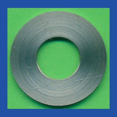 rictools Präzisions-Reduzierring gerändelt sehr stark – 30 mm / 13 mm, Stärke 1,8 mm