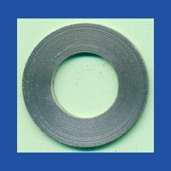 rictools Präzisions-Reduzierring gerändelt normal – 30 mm / 15,875 mm (5/8''), Stärke 1,4 mm