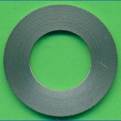 rictools Präzisions-Reduzierring gerändelt sehr stark – 30 mm / 16 mm, Stärke 1,8 mm
