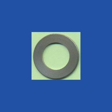 rictools Präzisions-Reduzierring gerändelt normal – 30 mm / 18 mm, Stärke 1,4 mm