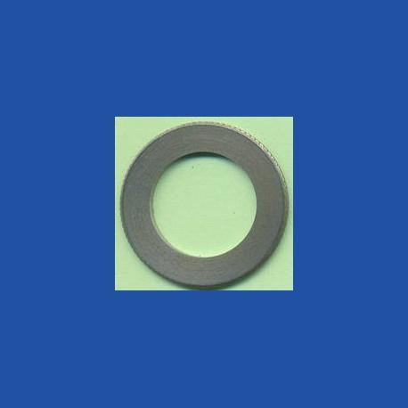 rictools Präzisions-Reduzierring gerändelt normal – 30 mm / 19 mm (3/4''), Stärke 1,4 mm