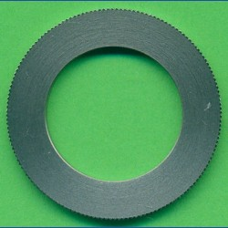 rictools Präzisions-Reduzierring gerändelt sehr stark – 30 mm / 19 mm (3/4''), Stärke 1,8 mm