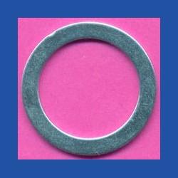 ricbasic Standard-Reduzierring glatt normal – 30 mm / 22,23 mm (7/8''), Stärke 1,3 mm