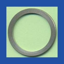 rictools Präzisions-Reduzierring gerändelt normal – 30 mm / 24 mm, Stärke 1,4 mm