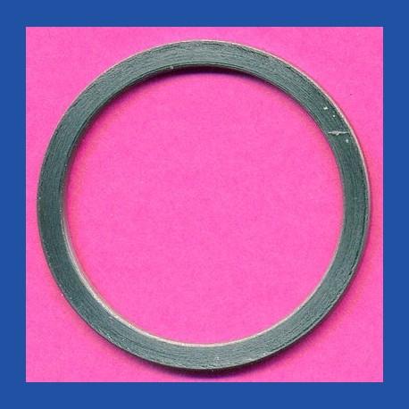 rictools Standard-Reduzierring glatt dünn – 30 mm / 25 mm, Stärke 1,2 mm