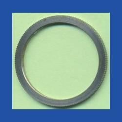 Kaindl Präzisions-Reduzierring gerändelt normal – 30 mm / 25 mm, Stärke 1,4 mm