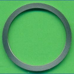 rictools Präzisions-Reduzierring gerändelt sehr stark – 30 mm / 25 mm, Stärke 1,8 mm