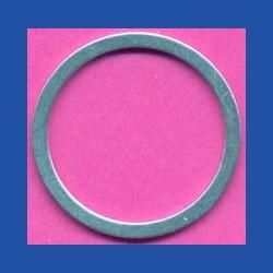 ricbasic Standard-Reduzierring glatt normal – 30 mm / 25,4 mm (1''), Stärke 1,3 mm