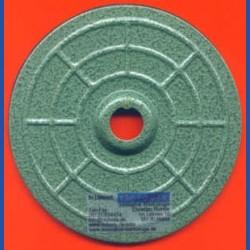 Kaindl Stahl-Teller mit Moosgummi und Klettbelag Ø 125 mm