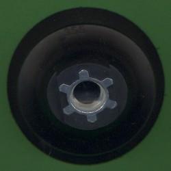 rictools Stützteller mit Klett medium Kombi Ø 75 mm