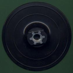 rictools Stützteller mit Klett Standard WS Ø 115 mm schwarz