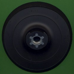 rictools Stützteller mit Klett medium WS Ø 125 mm