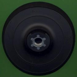 rictools Stützteller mit Klett medium Kombi Ø 125 mm