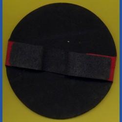 rictools Flexibler Handpad mit Klett und verstellbarer Schlaufe – Ø 125 mm