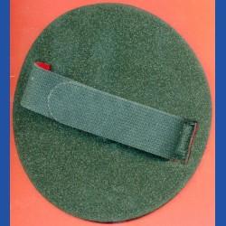 rictools Flexibler Handpad mit Klett und verstellbarer Schlaufe – Ø 150 mm