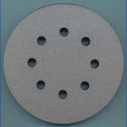 rictools Soft-Pad für Stützteller mit Klett – Ø 125 mm 8-fach gelocht