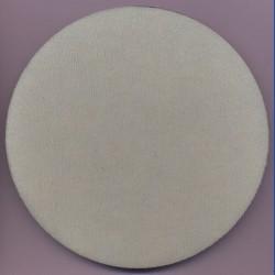 rictools Moosgummi-Pad für Stützteller mit Klett – Ø 150 mm