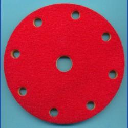 rictools Soft-Pad für Rotations- und Exzenter-Schleifer – Ø 150 mm 9-fach gelocht