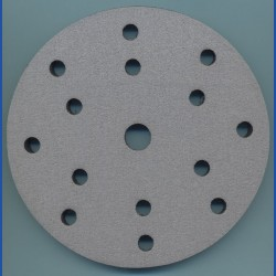 rictools Soft-Pad für Rotations- und Exzenterschleifer – Ø 150 mm 15-fach gelocht