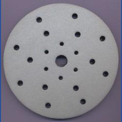 rictools Moosgummi-Pad für Rotations- und Exzenterschleifer – Ø 150 mm 21-fach gelocht