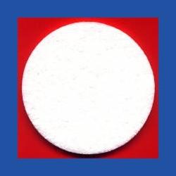 rictools Haft-Polierfilz Profi hart Ø 75 mm