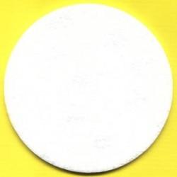 3M Haft-Polierfilz Profi mittel Ø 130 mm – für Ø 115 und 125 mm
