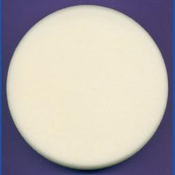 rictools Haft-Polierschwamm Profi glatt hart Ø 130 mm – für Ø 115 und125 mm