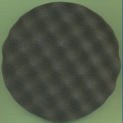 rictools Haft-Polierschwamm Profi gewaffelt extra weich Ø 150 mm – auch für Ø 125 mm