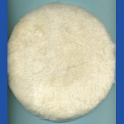 rictools Haft-Polierfell Profi Ø 225 mm – Aufnahme Ø 200 mm, auch für Ø 175 mm