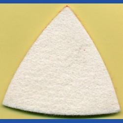 rictools Haft-Polierfilz Standard mittel in Delta-Form (93 mm)