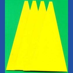 Kaindl Haft-Schleifblätter Standard für die Schleifkelle – K80 grob, 4 Stück