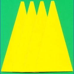 Kaindl Haft-Schleifblätter Standard für die Schleifkelle – K120 mittelgrob, 4 Stück