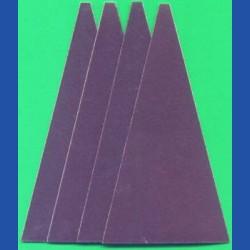 Kaindl Haft-Schleifblätter KO für die Schleifkelle – K220 fein, 4 Stück