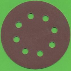 Kaindl Haft-Schleifscheiben KO 8-fach gelocht – Ø 115 mm, K220 fein