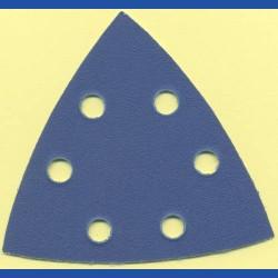 Kaindl Delta-Schleifscheiben KO – 93 mm 6-fach gelocht, K150 mittel