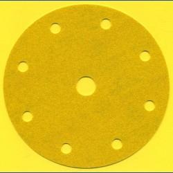 sia Haft-Schleifscheiben HL – Ø 150 mm 9-fach gelocht, K120 mittelgrob